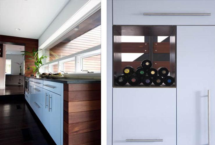 Casa singola fatta con containers navali. Green Living Ltd Cucina attrezzata