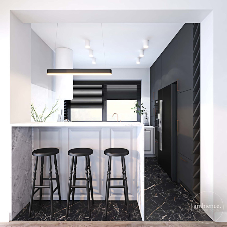 Ambience. Interior Design Cuisine originale