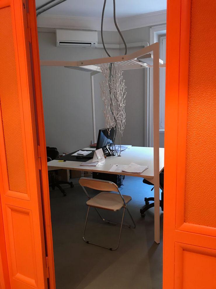 ibedi laboratorio di architettura 辦公大樓 水泥 White