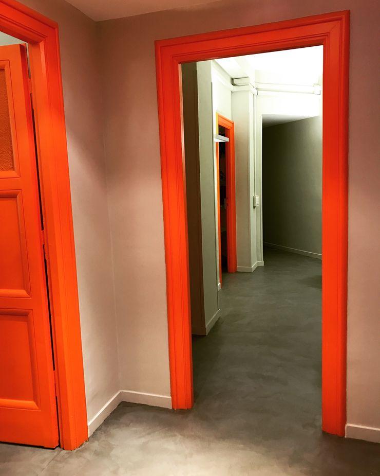 ibedi laboratorio di architettura 辦公大樓 水泥 Orange