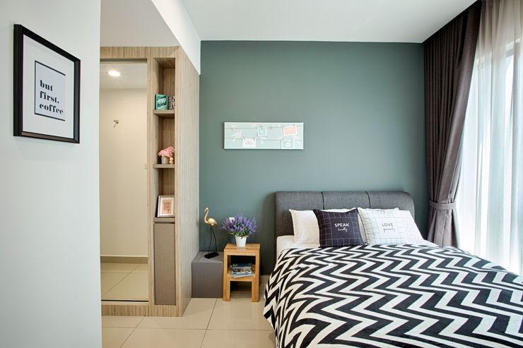 Ascenda Condo GI Design Sdn Bhd Modern style bedroom
