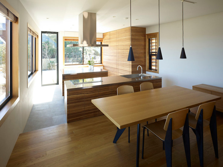 casa fatta con containers navali Green Living Ltd Cucina attrezzata