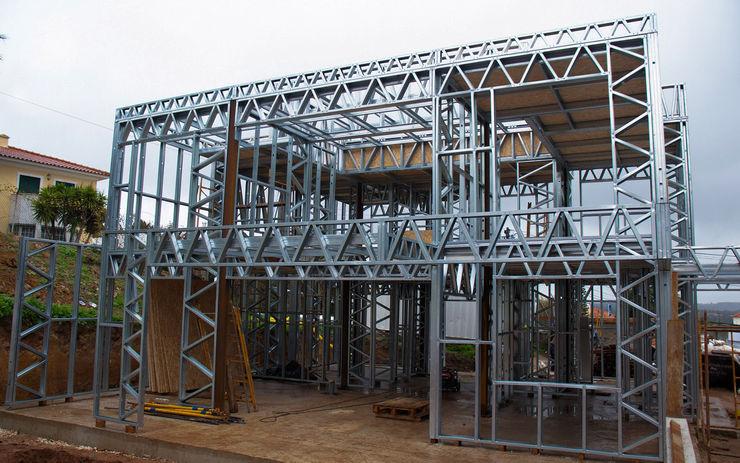 Estrutura Light Steel Frame homify