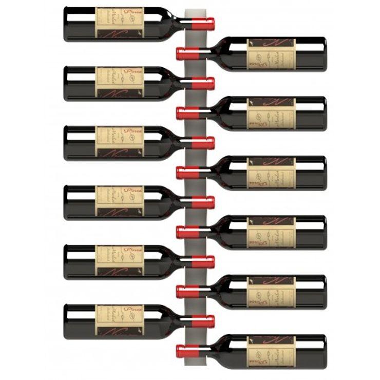 Garrafeiros - Adegas para Vinho Modern Şarap Mahzeni Metal Siyah