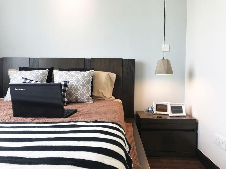 DCS CREATIVES SDN. BHD. Scandinavian style bedroom