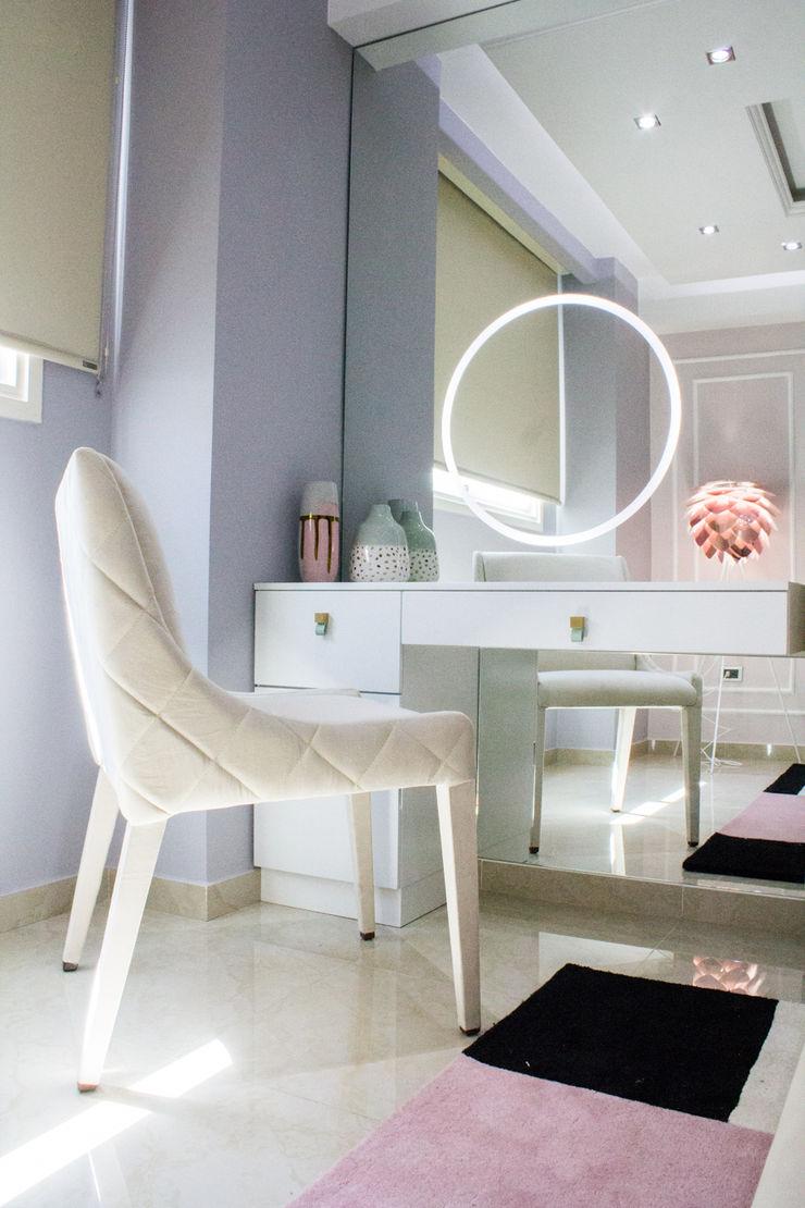 Area de maquillaje Arq Renny Molina Cuartos de estilo moderno