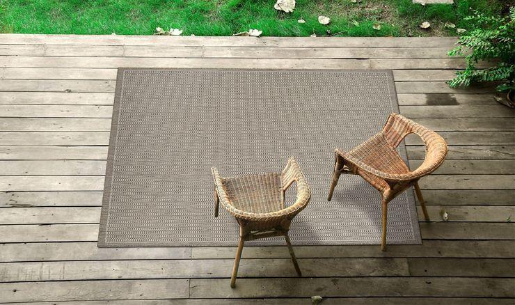 Tappeto outdoor Tatami Taupe Webtappeti GiardinoAccessori & Decorazioni Tessuti Grigio
