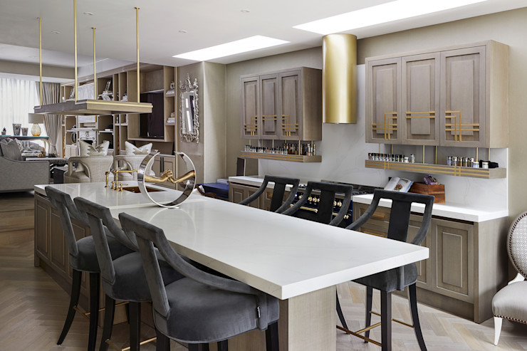 Chiddingstone, Fulham Celine Interior Design Country style kitchen