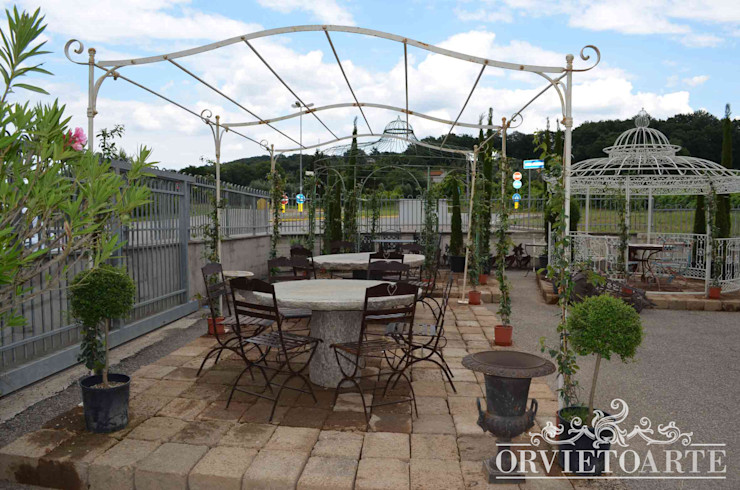 Orvieto Arte Garden Greenhouses & pavilions Iron/Steel White