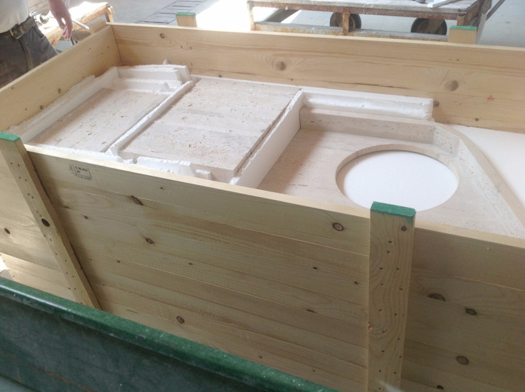 INDAMAR SRL Classic style bathrooms Stone White