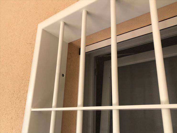 Officine Locati Classic style windows & doors Iron/Steel Beige