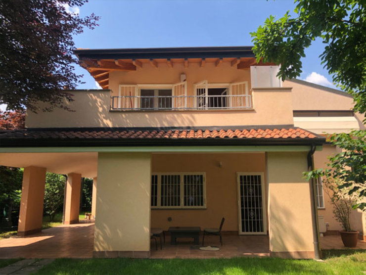 Officine Locati Villas Concrete Yellow