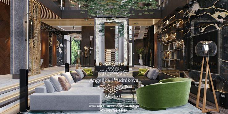 Дизайн-студия элитных интерьеров Анжелики Прудниковой Living room