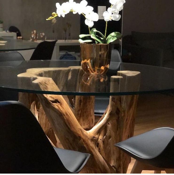 Camacã Design em Madeira Dining roomTables Wood