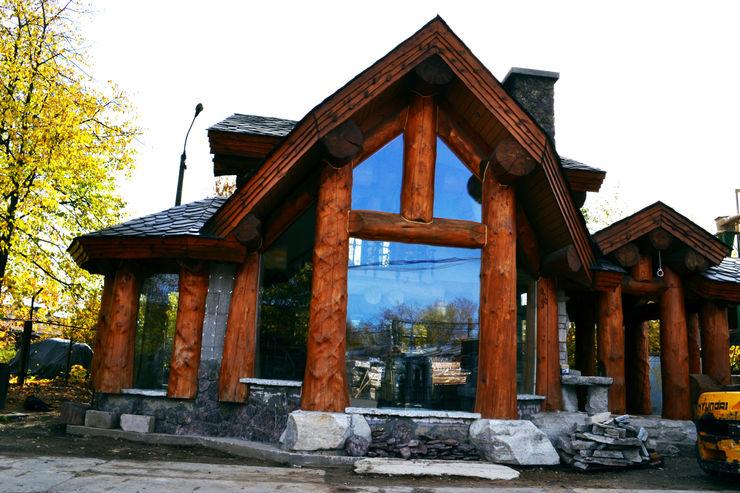Дом из бревна Big House Деревянные дома Дерево