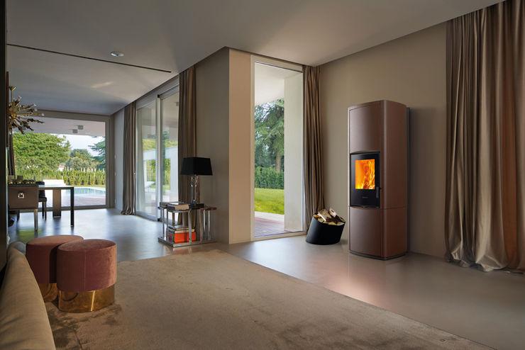 Gruppo Piazzetta S.p.a. Modern living room Ceramic