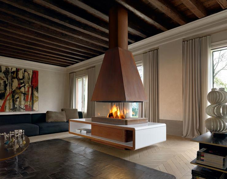 Gruppo Piazzetta S.p.a. Classic style living room Ceramic White