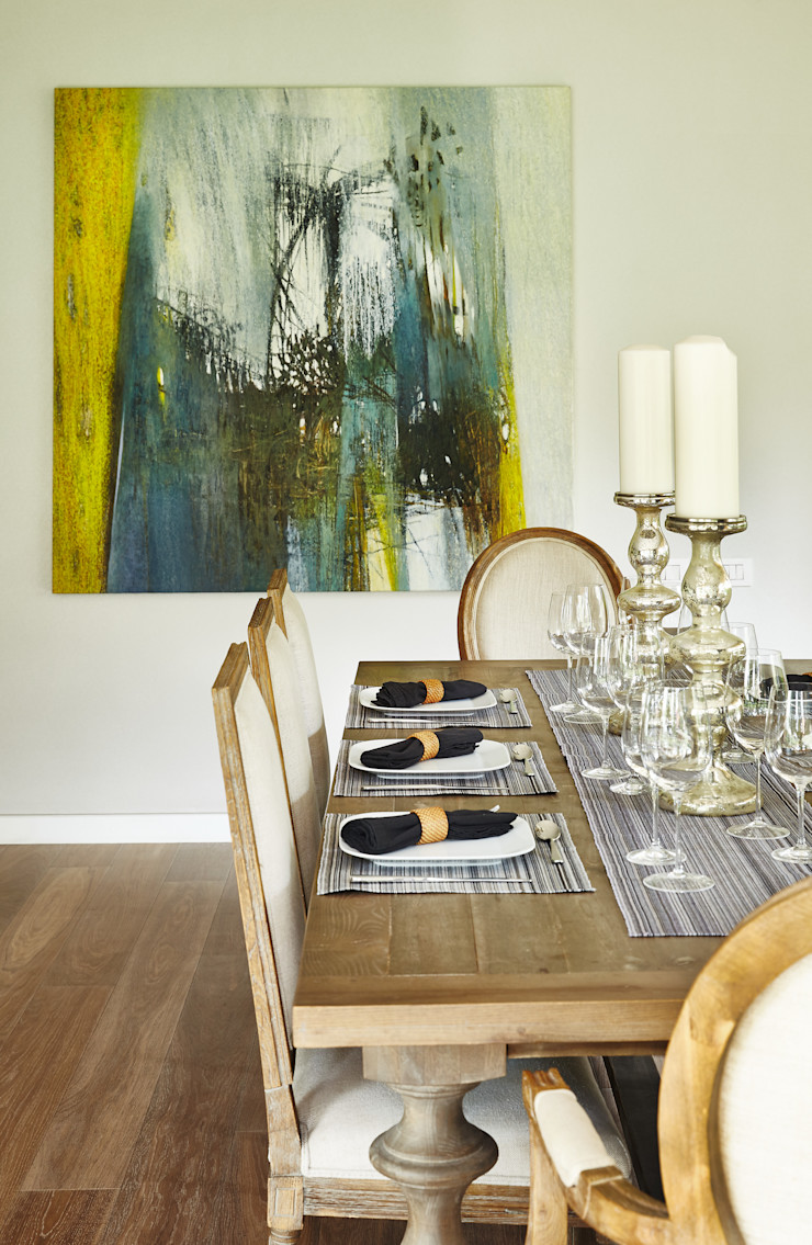 Ecologik Eclectic style dining room Multicolored