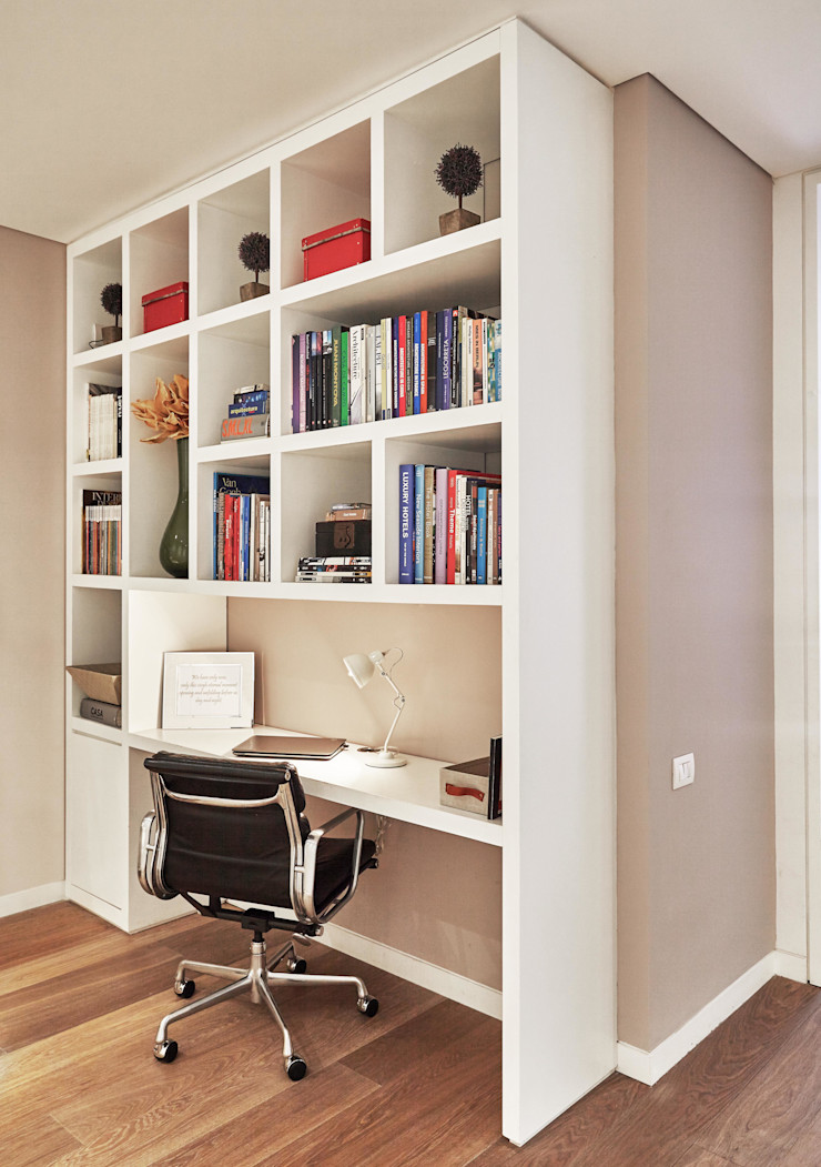 Ecologik Modern study/office White