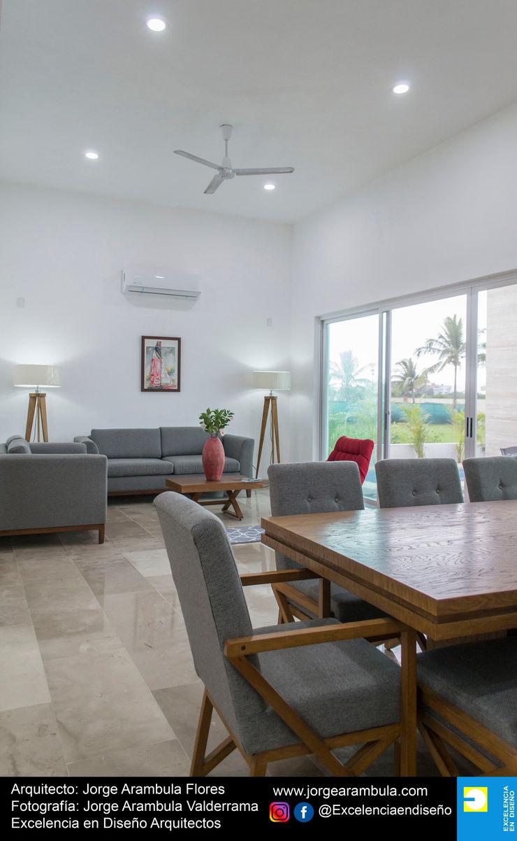Casa Alejandra Excelencia en Diseño Comedores modernos