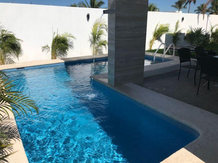 Casa Alejandra Excelencia en Diseño Albercas modernas