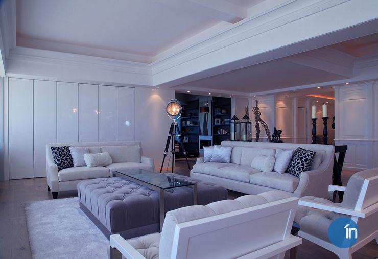 Indigo Creative Studio Classic style living room Wood White
