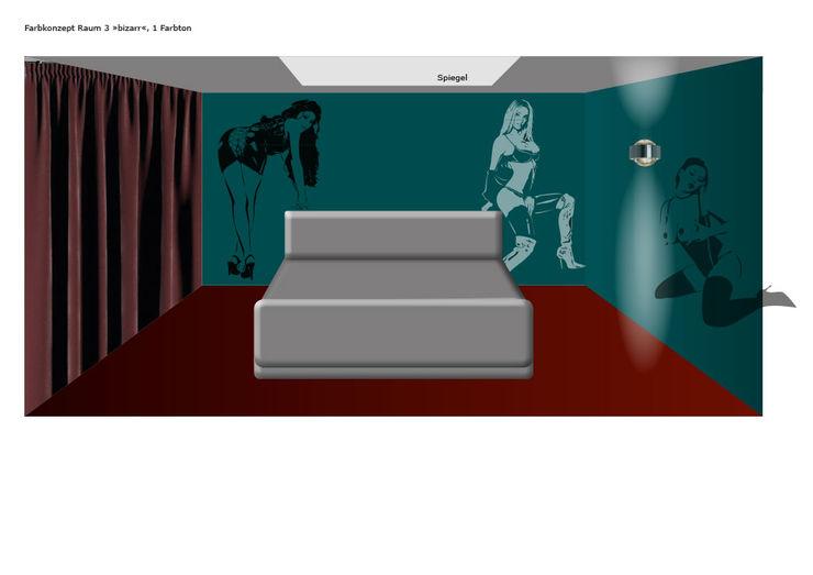 Erotikschablonen für Clubs, Disco, Bars und prickelndes privates Ambiente ab-design GmbH Moderne Bars & Clubs