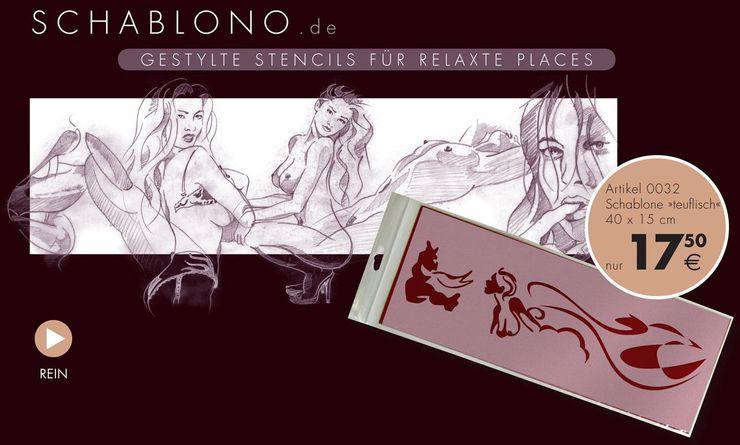 Wir zeichnen & gestalten selbst und produzieren Schablonen InHouse ab-design GmbH Ausgefallene Bars & Clubs