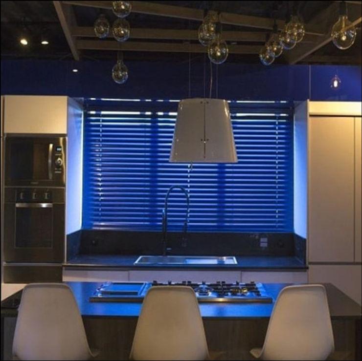Persiana horizontal pvc Vianna Diamond Cozinhas modernas