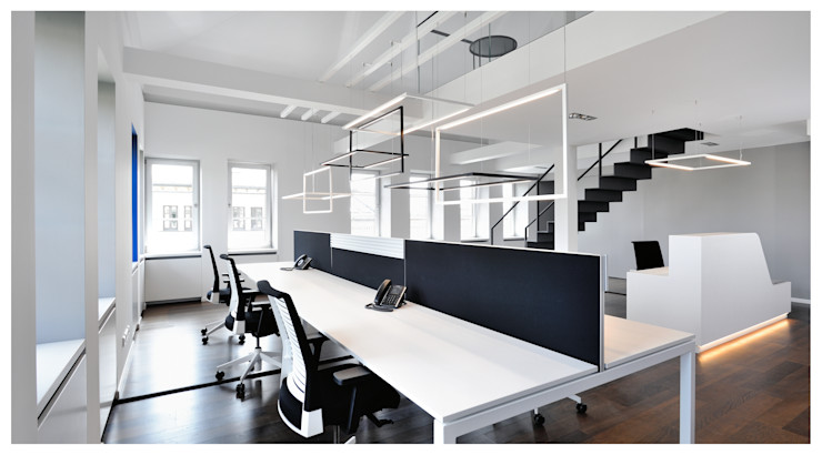 Heerwagen Design Consulting Modern Study Room and Home Office