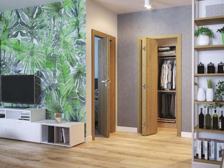 InPortas BedroomAccessories & decoration Wood Wood effect