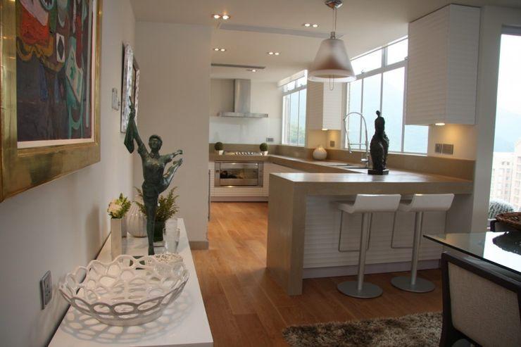 Open Kitchen Darren Design & Associates 戴倫設計 Modern kitchen