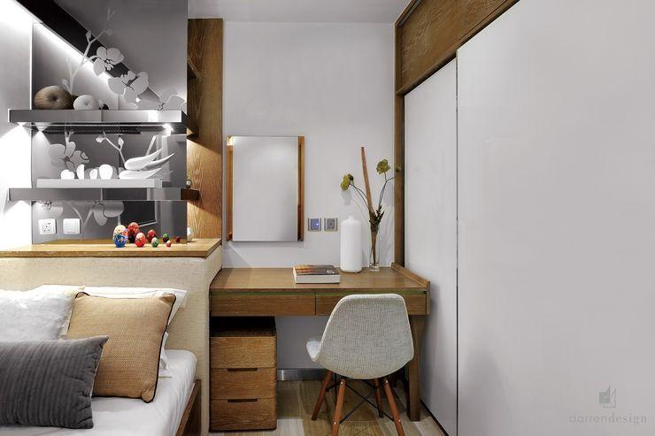 Master bedroom Darren Design & Associates 戴倫設計 Modern style bedroom