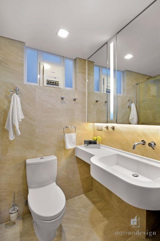 Bathroom Darren Design & Associates 戴倫設計 Modern bathroom Bricks Yellow