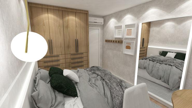ZOMA Arquitetura BedroomBeds & headboards