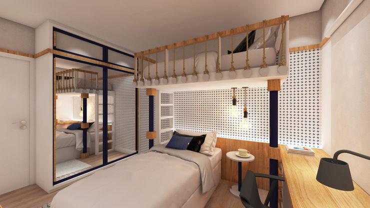 ZOMA Arquitetura BedroomWardrobes & closets