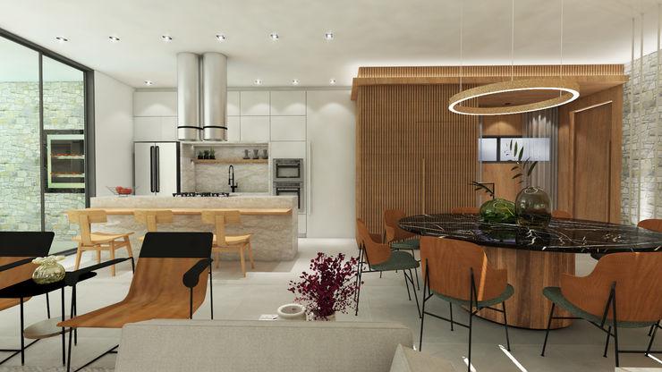 ZOMA Arquitetura Modern kitchen
