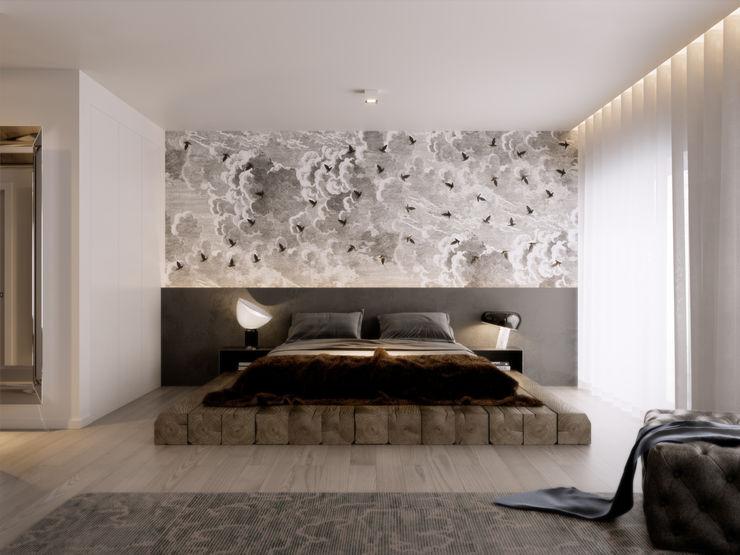 Inêz Fino Interiores Inêz Fino Interiors, LDA Quartos modernos