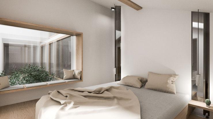 INNOVATIVE NEUGESTALTUNG - Modernes Innenraumdesign S.N.O.W. Planungs und Projektmanagement GmbH Moderne Schlafzimmer