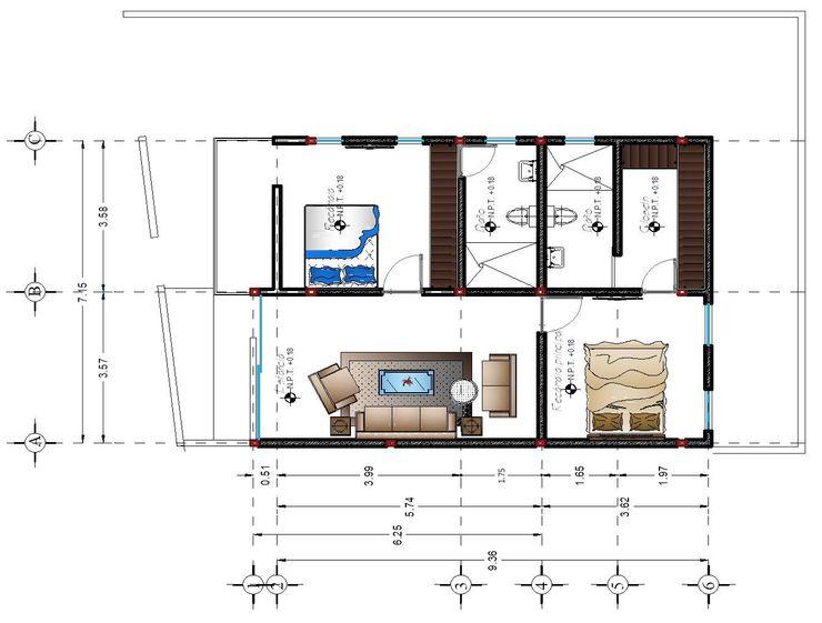Proyecto Nuevo México Vintark arquitectura Tinas de hidromasaje Ladrillos Acabado en madera