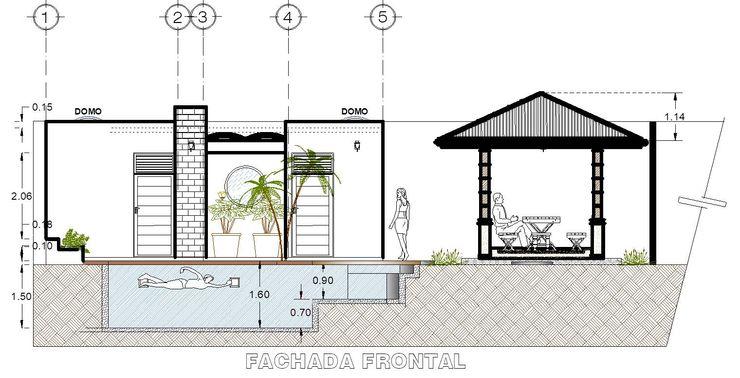 Proyecto Nuevo México Vintark arquitectura Albercas de jardín Concreto reforzado Azul