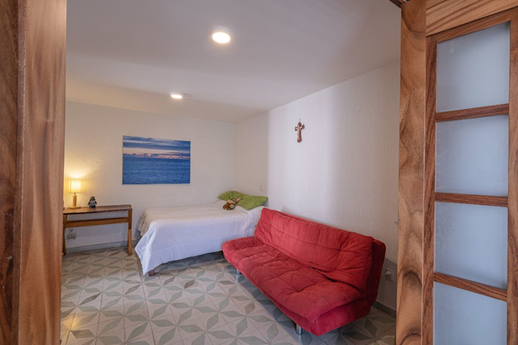Inmobiliaria Punto 30 Colonial style bedroom