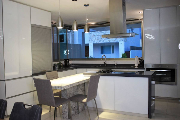 Inmobiliaria Punto 30 Modern Dining Room