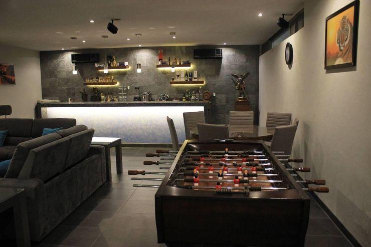 Inmobiliaria Punto 30 Modern Media Room