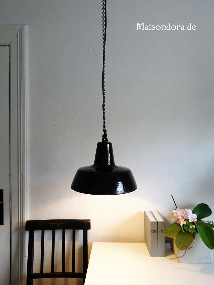 Maisondora Vintage Living KitchenLighting Metal Black
