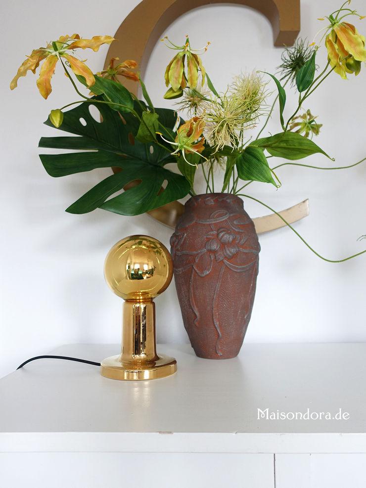 Maisondora Vintage Living Living roomLighting Ceramic Amber/Gold