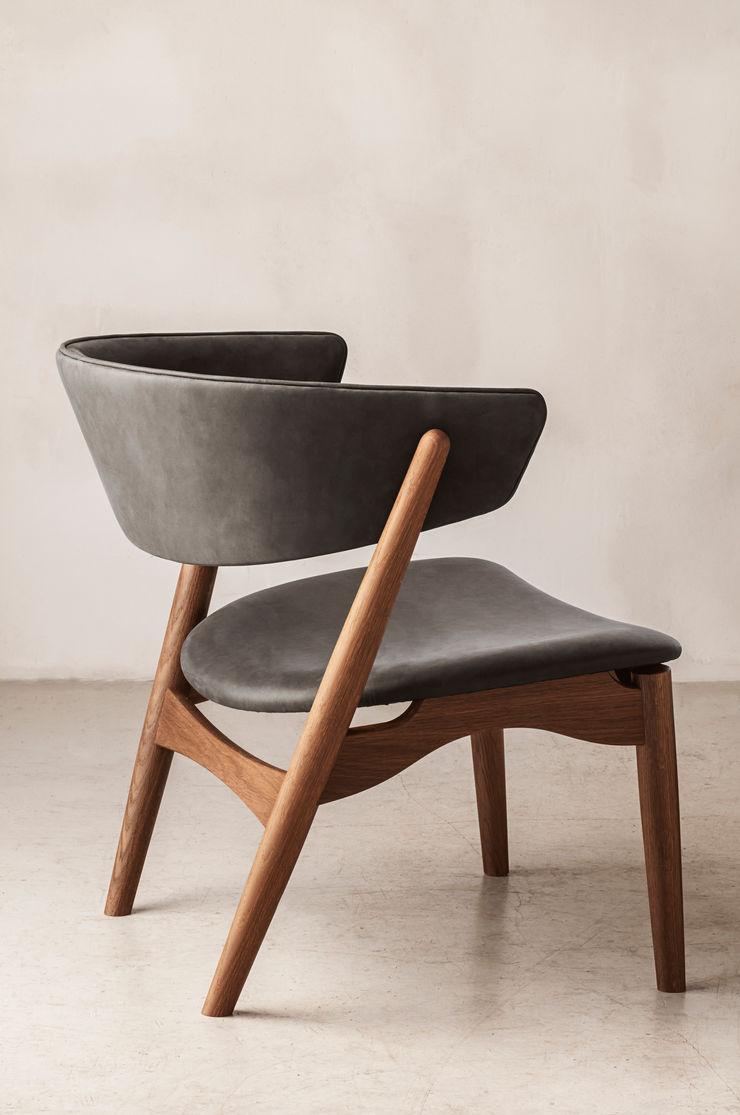 Silla Sibast No7 Lounge Caltha Design Agency SalasSalas y sillones Madera Marrón