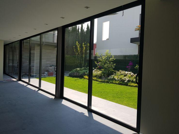 Merkalum Passive house Aluminium/Zinc Black