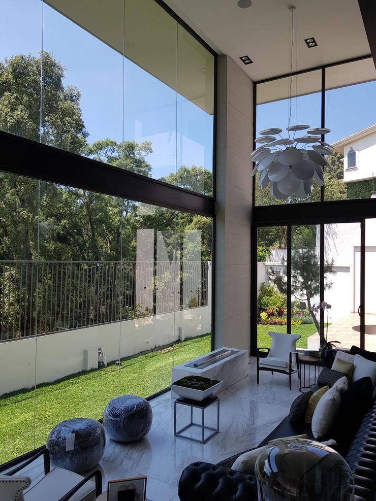 Merkalum Single family home Aluminium/Zinc Black