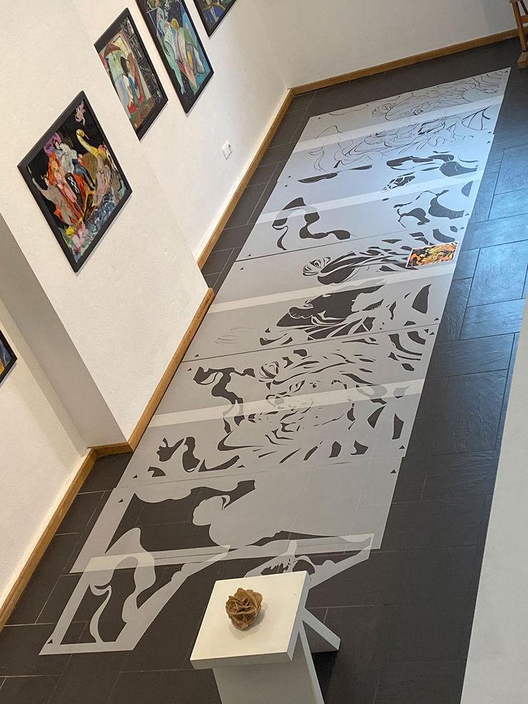 Schablonentechnik machts möglich. Werde auch du ein Artist! ab-design GmbH Asiatische Kinderzimmer
